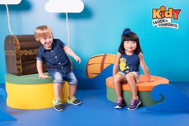 Nova coleção da Kidy traz games para os calçados