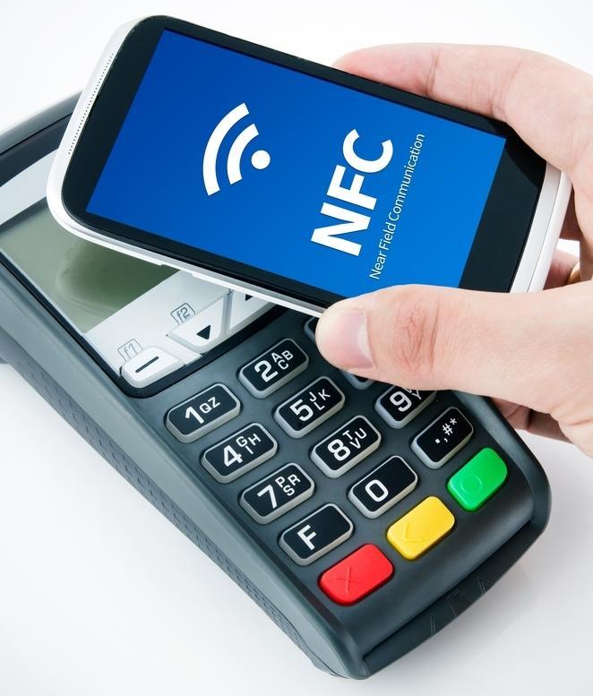pagamentos por celular NFC