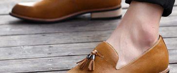 verão para pés masculinos loafer