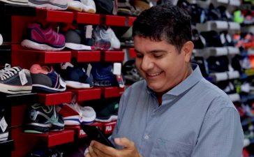 comprar e vender calçados